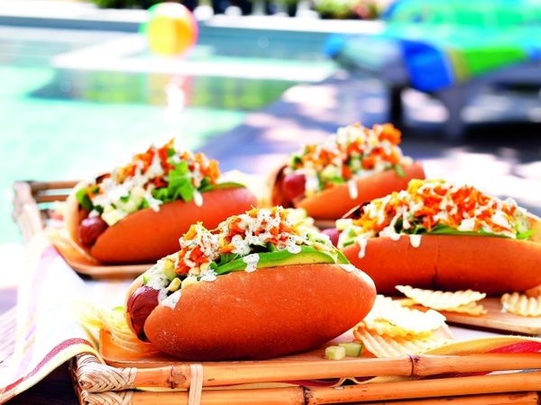 California Hot Dogs