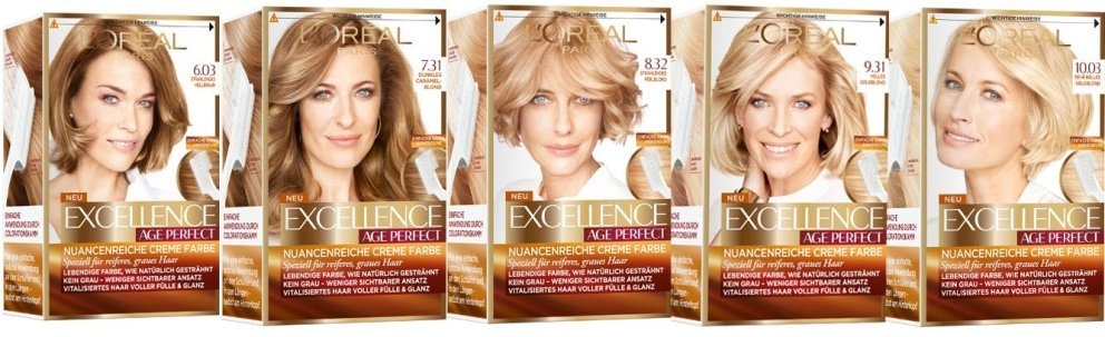 L'Oreal Excellence Age Perfect