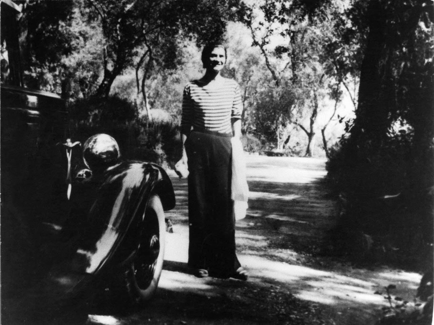 Coco Chanel  in La Pausa etwa 1930