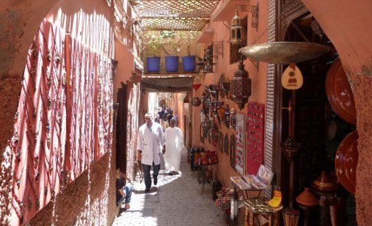 Souk in Marrakesch