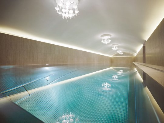Pool im Sans Souci Day Spa