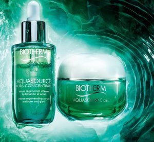 Biotherm Aquasource Aura Concentrate & Gel