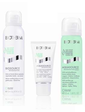 Biotherm Aquasource Biosensitive Linie
