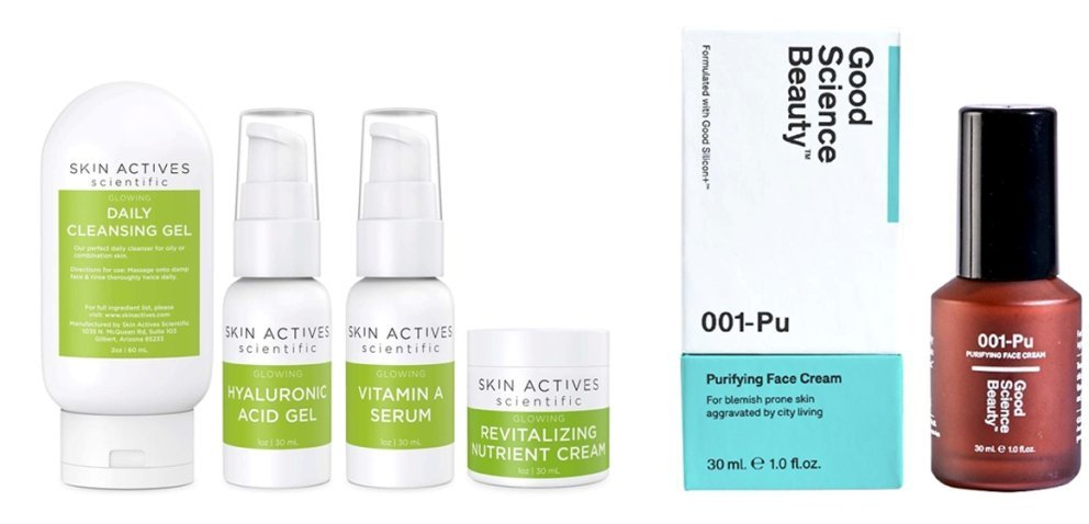Skin Actives Scientific und  Good Science Beauty