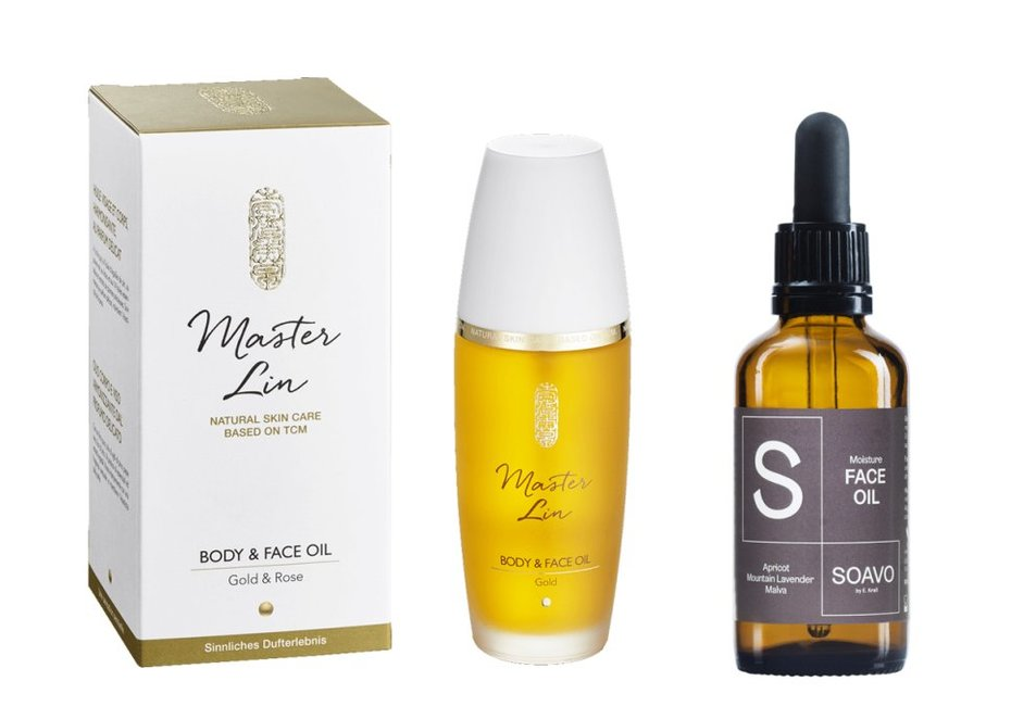 Master Lin Body & Face Oil, Soavo Face OIl