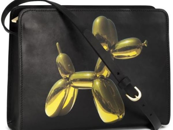 Jeff Koons Yellow Balloon Dog Bag