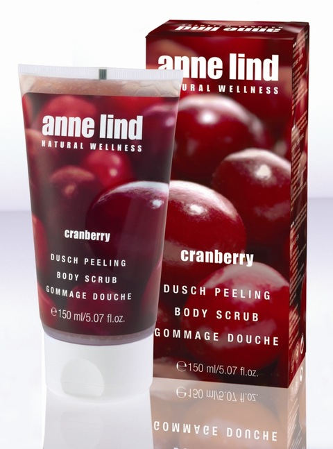 Anne Lind Cranberry Duschpeeling