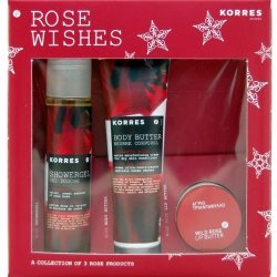 Korres Rose Wishes Set