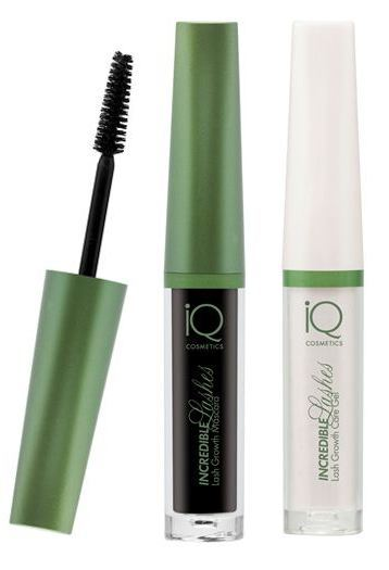 IQ Cosmetics Incredible Lashes Mascara und Care Gel