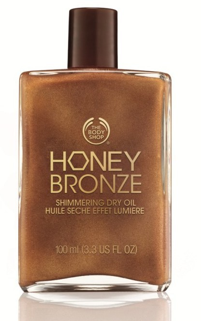 Body Shop Honey Bronze Shimmering Dry Oil