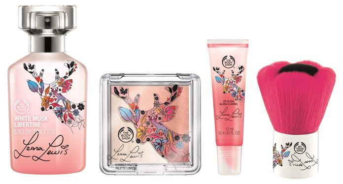 The Body Shop - Leona Lewis Collection