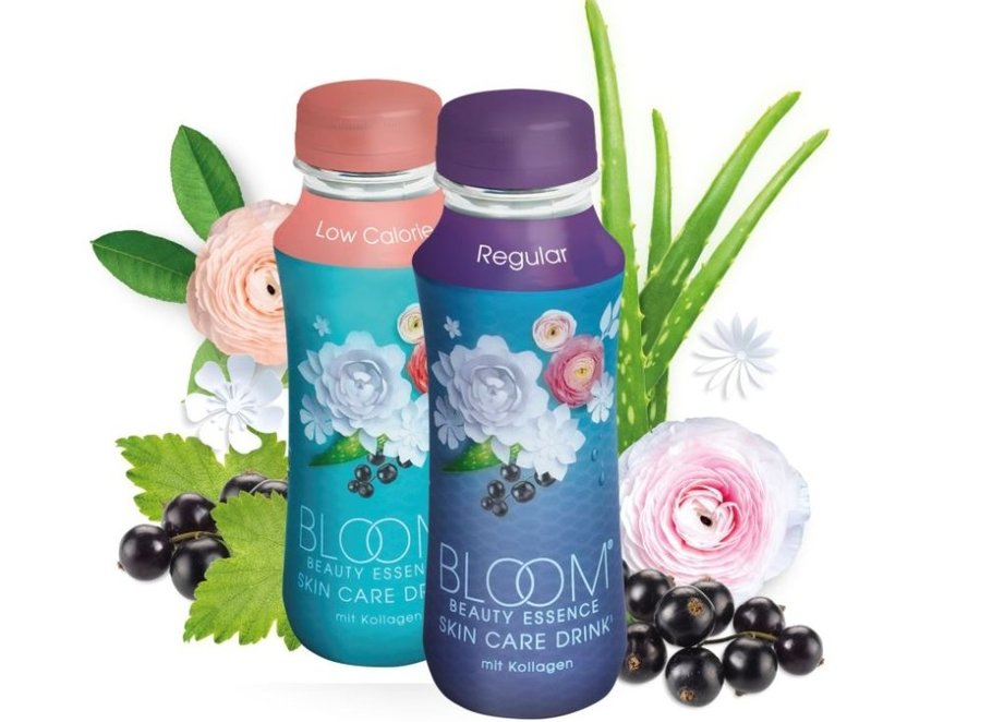 Bloom Beauty Essence Skin Care Drink mit Kollagen